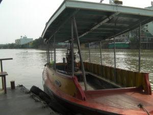 アユタヤのボート