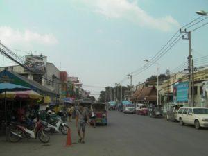 アユタヤの街並み