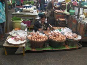 イサーンの市場