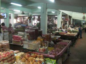 タイの市場-