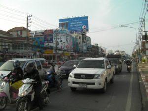 タイの日常の風景