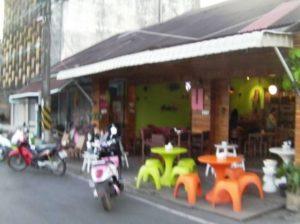 タイの若者が利用するレストラン