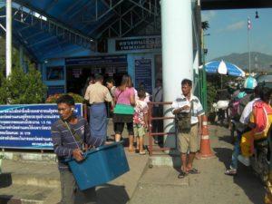 タイ国境 Thai border