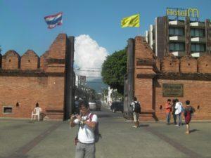 チェンマイゲート Chiang Mai gate