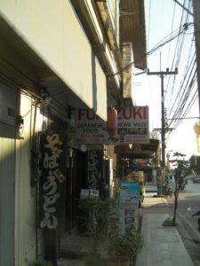 チェンライの日本食レストラン
