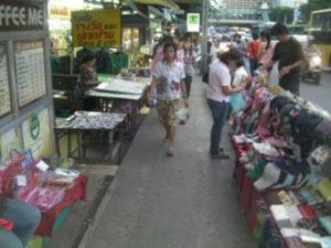 バンコクの伊勢丹界隈