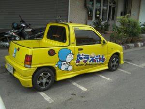 日本のアニメ好きなタイ人