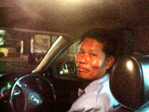 バンコクのタクシードライバー